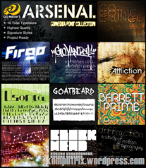 GoMedia_Font_Pack_Poster