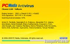 PCMedia Antivirus 2.0d dengan update terbaru