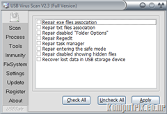 USB Virus Scan 2.3