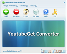 Download YoutubeGet v5 portable!