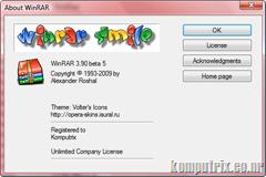 WinRar 3.90 beta 5